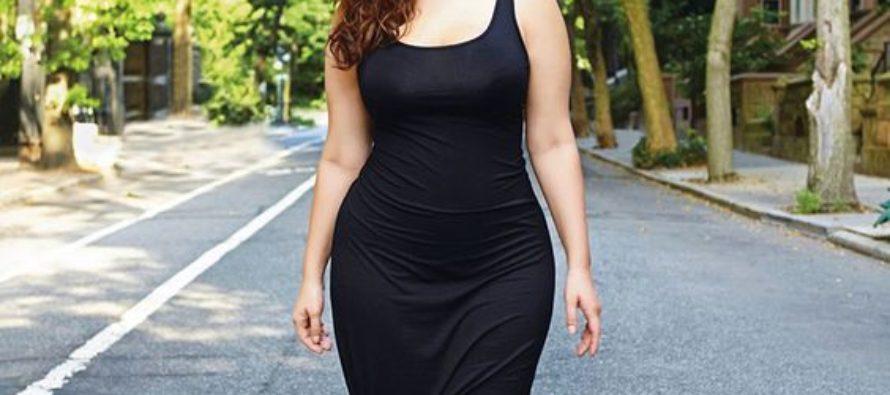 Vestidos de moda para chicas con curvas