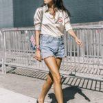 Ideas de como llevar shorts con tacones