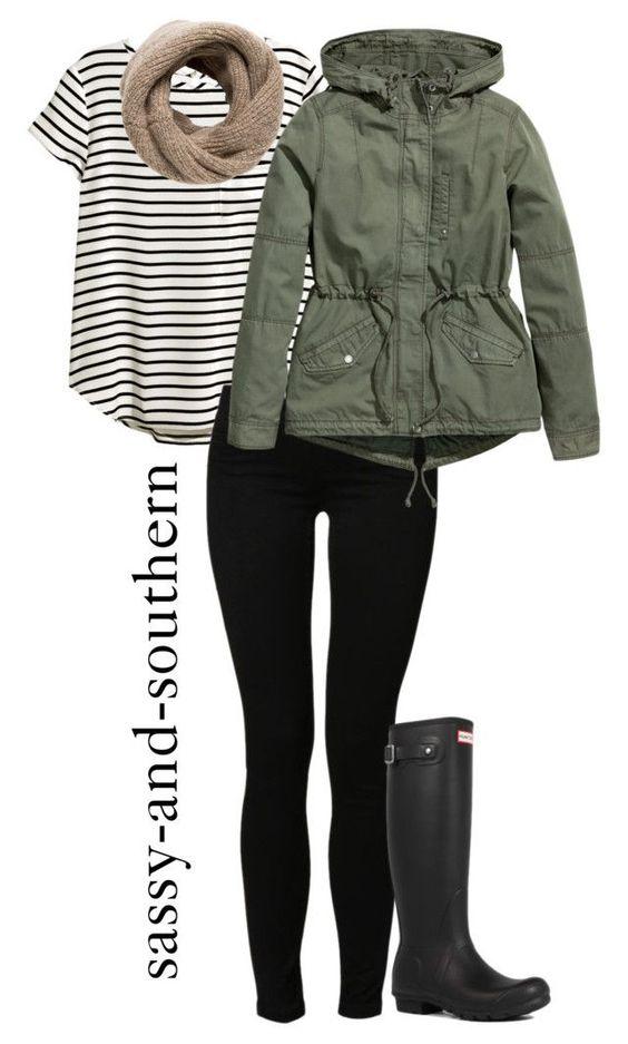 Outfits para días de lluvia