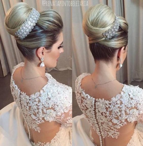Hairstyles collected for brides 2017