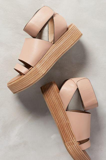 Sandalias con plataforma ideales para este verano