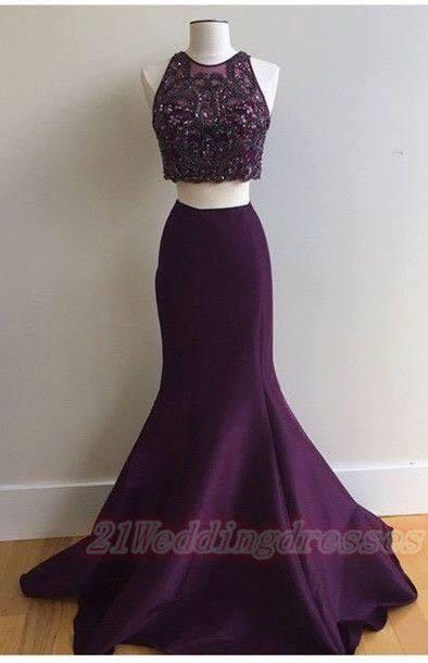 Vestidos de dos piezas para eventos formales