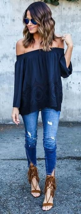 Tendencias-en-outfits-color-azul-marino (23) | Beauty And Fashion Ideas Fashion Trends Latest ...