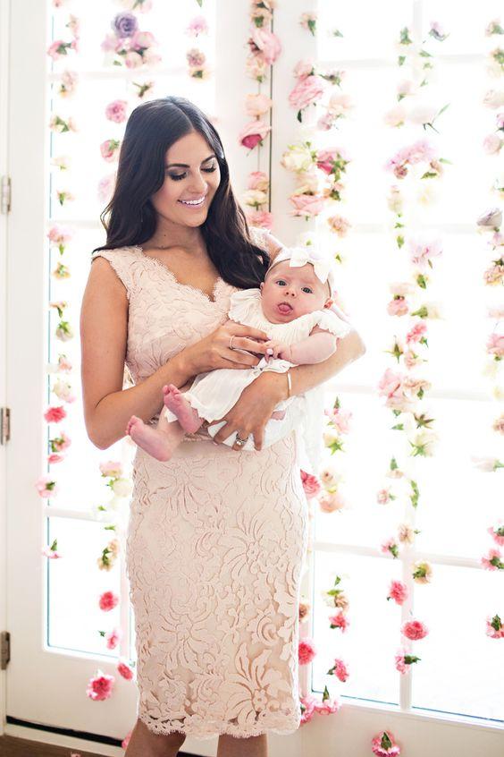 Vestidos Para La Mamá Ideal Para Bautizo