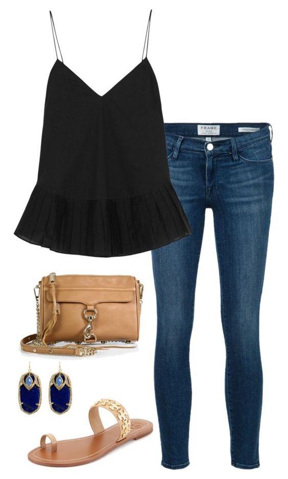 Looks con jeans y blusas negras ¡Básicos con mucho estilo!