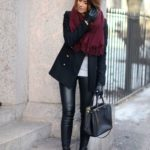 Outfits color negro para invierno 2017-2018