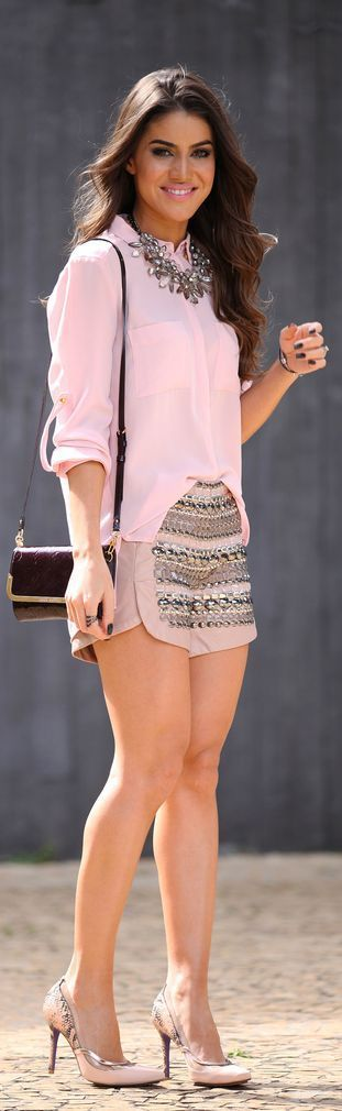 Outfits color rosa cuarzo