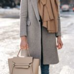 Outfits con bufandas para otoño-invierno 2017