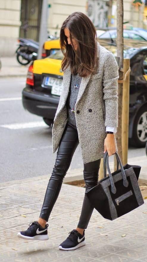 Abrigos y sueters de moda para este otoño - invierno 2017