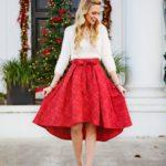 Outfits de fiesta para invierno 2017 - 2018