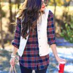 Looks con camisas a cuadros otoño - invierno 2017 (19)
