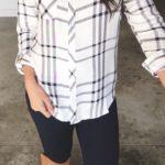 Looks con camisas a cuadros otoño - invierno 2017 (7)