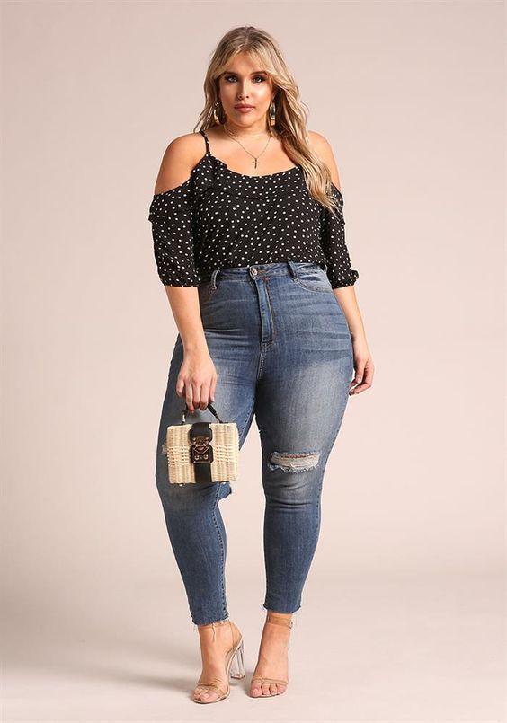 fe33d1a46c moda para mujeres de 40 años gorditas