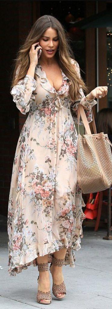 c5babe5a7 Vestidos vaporosos. moda para mujeres de 40 modernas