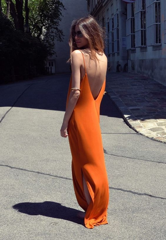 10 looks color naranja