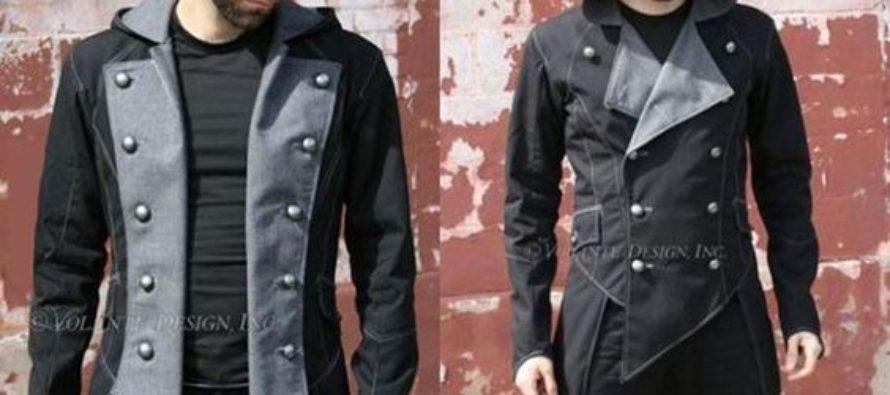 Look gótico casual para hombres