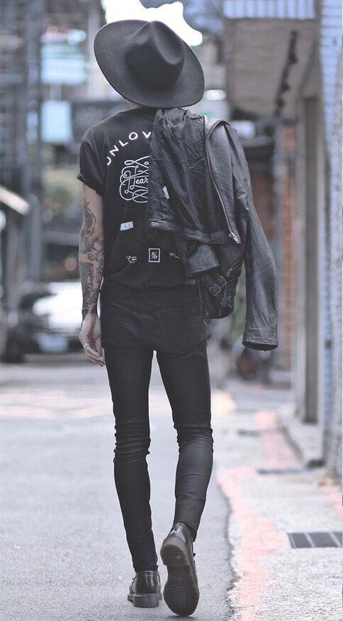 looks gotico para hombre