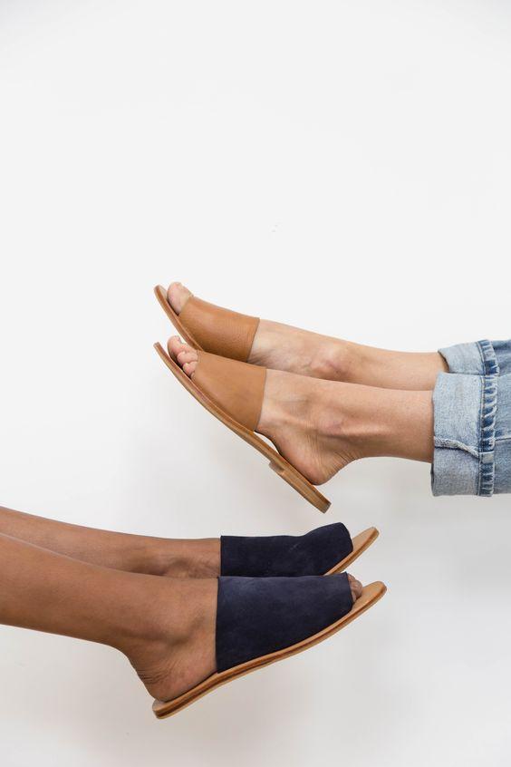 Moda de verano zapatos