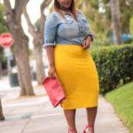 outfits para chicas curvi