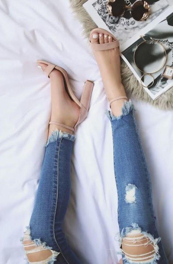 Zapatos para mujeres altas y delgadas