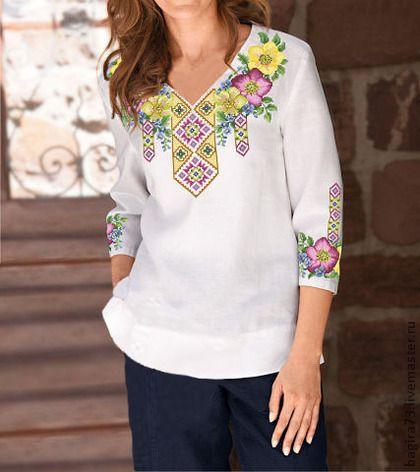Blusas mexicanas bordadas de moda5