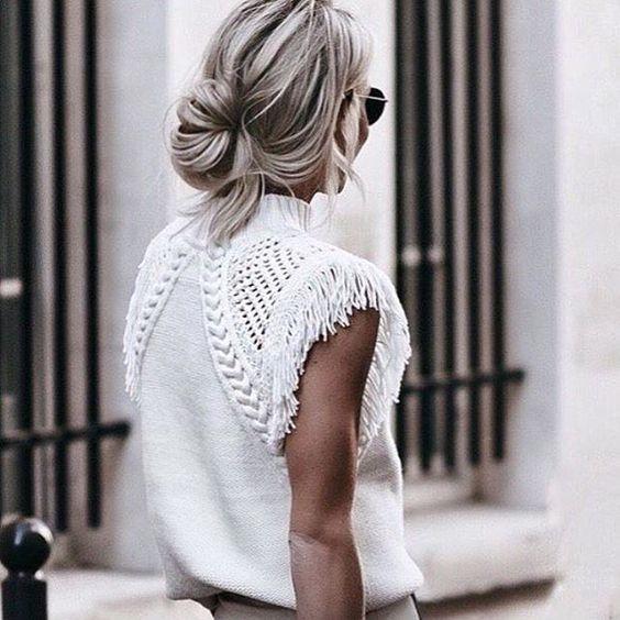 blusas con hombreras para mujeres delgadas