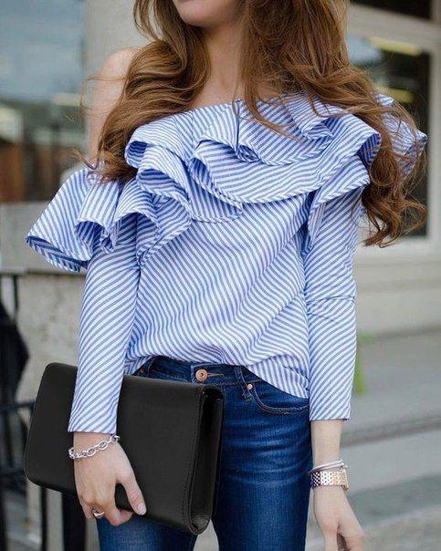 blusas para mujeres muy delgadas