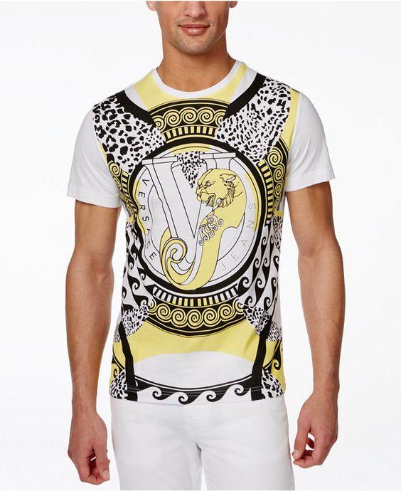 camiseta versace para hombre