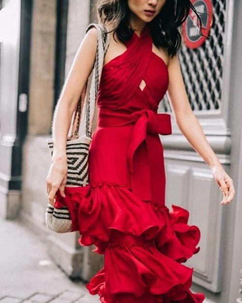 color rojo primavera
