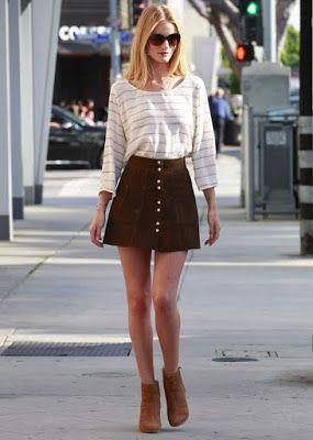 faldas para mujeres muy delgadas