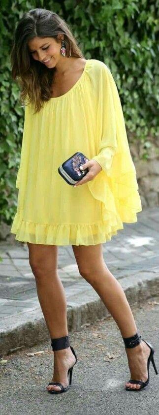 looks en amarillo primaveral