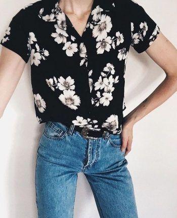 Outfits con camisas estampadas