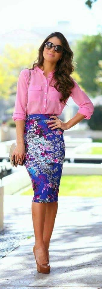 Outfits con camisas por colores