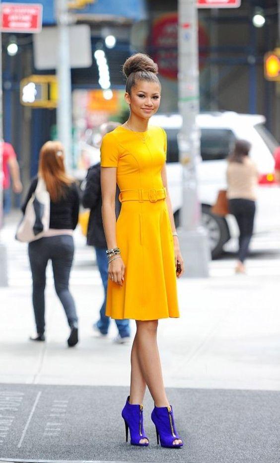 que significa el color amarillo en la ropa