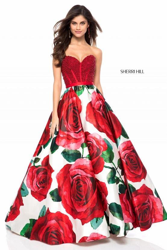 Imagenes de vestidos de graduacion color rojo