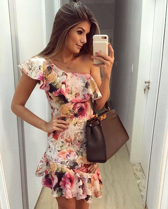 vestidos estampados 2018 5