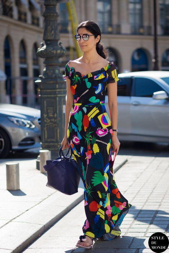 vestidos estampados 2018