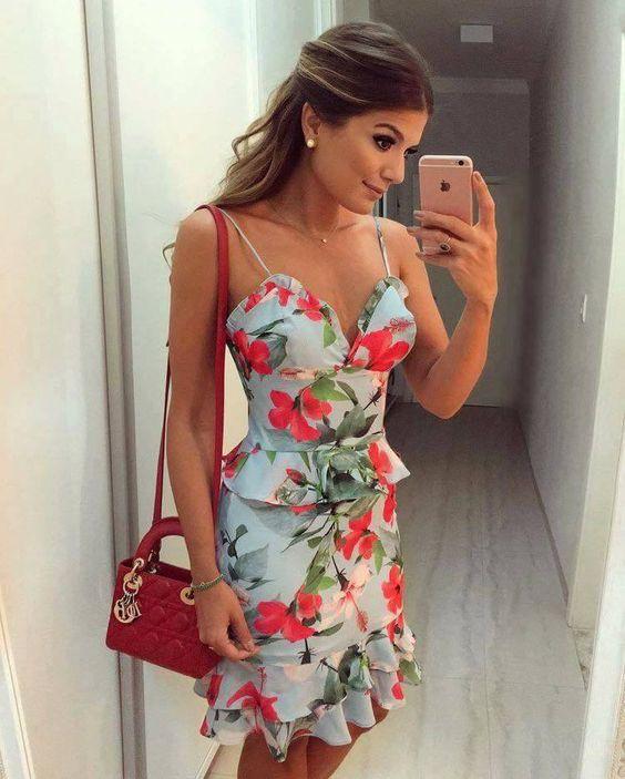 Primavera Vestidos Vestidos Verano Estampadosdiseños 2018