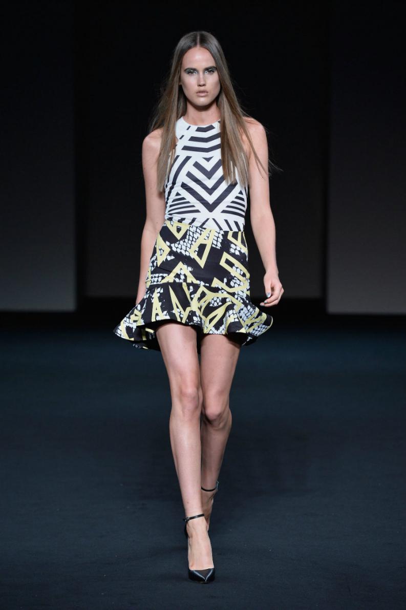 vestidos estampados cortos