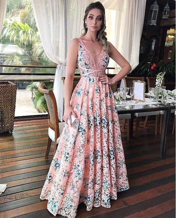 207bbfb1f4 Vestidos estampados para mujeres mayores - Vestidos formales