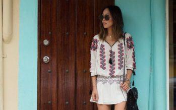Blusas bordadas estilo mexicano