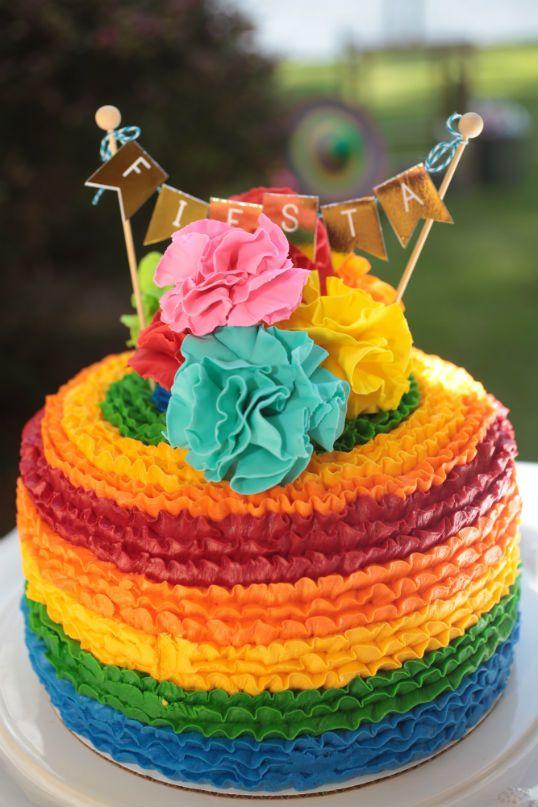 Fiesta de cumpleaños para mujer con tema mexicano