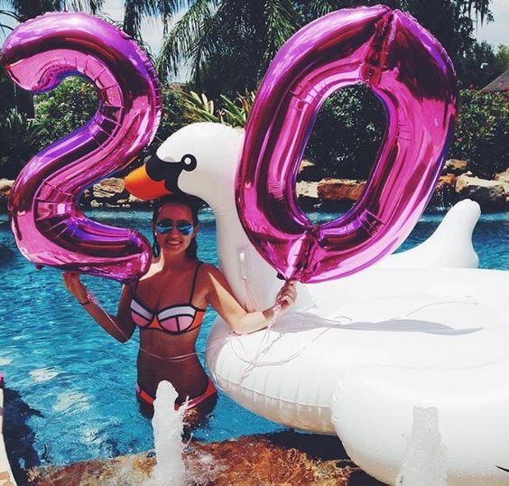 Fiesta para mujer de 20 años