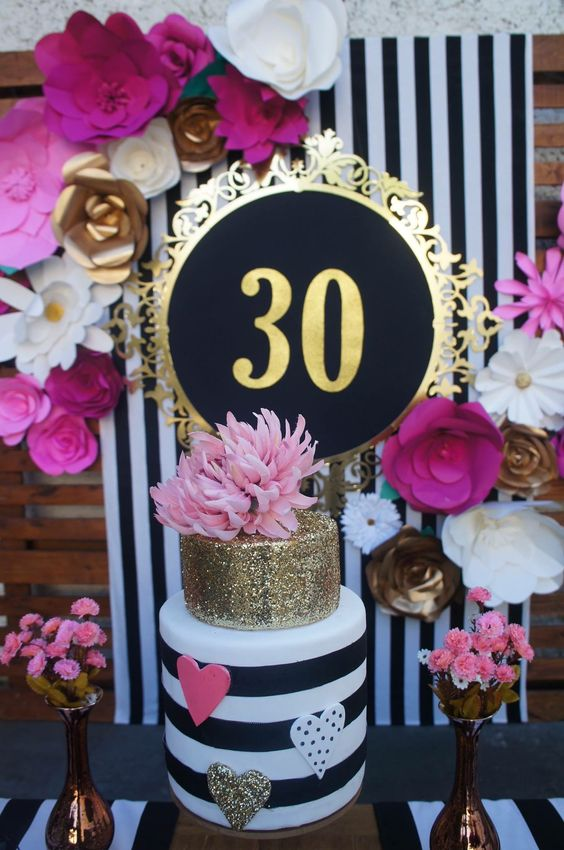 Fiesta para mujer de 30 años