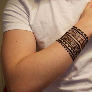Tatuajes tribales para brazos