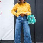 Looks con wide leg jeans