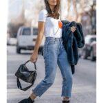 Ideas de looks con pantalones rectos