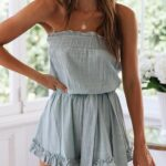 Looks con rompers strapless