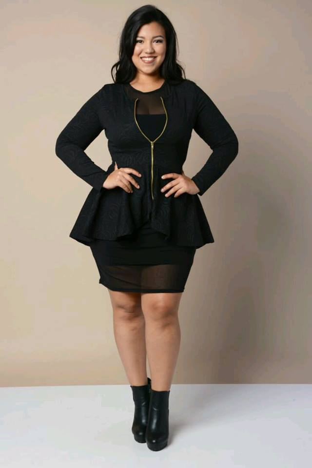 Plus Size Outfits With Peplum Blouses 22 Beauty And