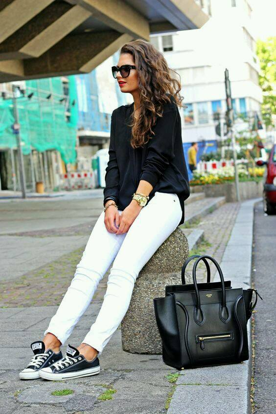 Outfits con tenis